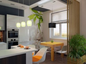 Маленькая кухня-гостиная: как создать эргономичное и стильное пространство?