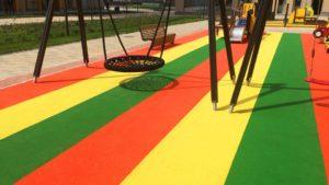 Резиновые покрытия для детских площадок: советы по выбору и использованию