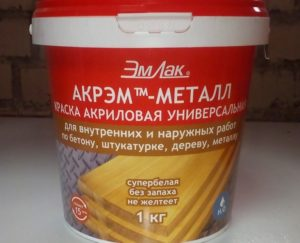Краски по металлу без запаха для внутренних работ: критерии выбора