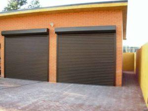 Ворота-рольставни на гараж: плюсы и минусы