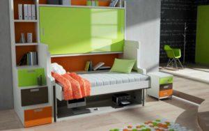 Двухъярусная детская кровать-трансформер: отличный вариант для малогабаритных квартир