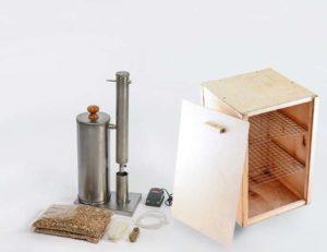 Коптильни Hanhi: конструкции для горячего и холодного копчения