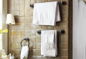 Полотенцедержатели для ванной комнаты: как выбрать и разместить?