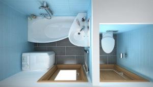 Раковина над ванной: виды и идеи дизайна