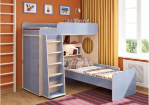 Угловые двухъярусные кровати: модели и советы по выбору