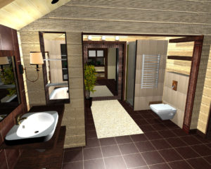 Санузел в частном доме: планировка и обустройство