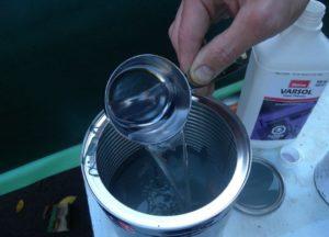 Чем разбавить водоэмульсионную краску?