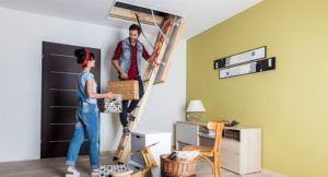 Чердачные лестницы с люком: отличительные черты
