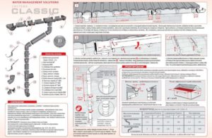 Водосточные желоба: технические характеристики и правила установки