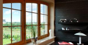 Ламинированные окна: красивые варианты отделки конструкций