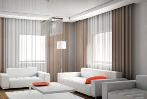 Современный дизайн штор: модные стили и новинки