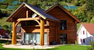 Тонкости проектирования и строительства домов из бруса