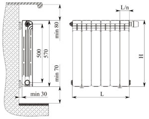 Алюминиевые радиаторы отопления: виды, характеристики и рекомендации по монтажу