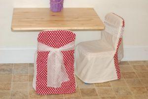 Изготовление чехлов на стулья своими руками