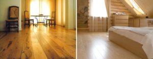 Полы в деревянном доме: наиболее подходящие варианты