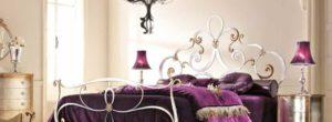 Отличительные черты кованых кроватей из Малайзии
