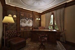 В каком стиле оформить кабинет?