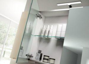 Зеркальные шкафчики для ванной комнаты: выбор и установка