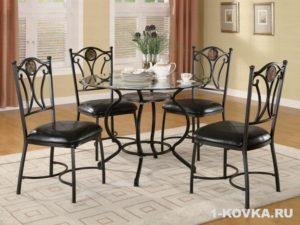 Для какого дизайна подходят кованые стулья?