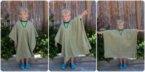 Тонкости выбора полотенца-пончо