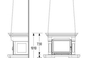 Размеры электрических каминов: стандарты и уникальные варианты