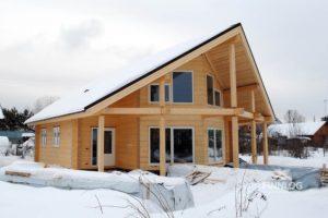 Финские дома из клееного бруса: новые технологии строительства