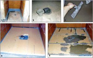 Изготовление душевой кабины без поддона своими руками в квартире