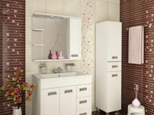 Выбираем навесной шкаф в ванную комнату
