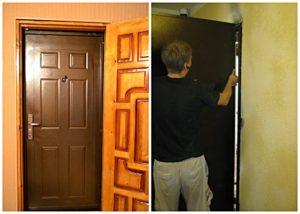 Как установить входные двери?