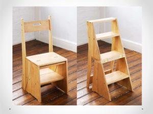 Как правильно выбрать стул-стремянку?
