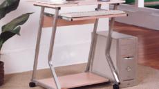 Как выбрать компьютерный стол на колесиках?