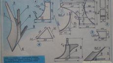 Как изготовить плуг для мотоблока своими руками?