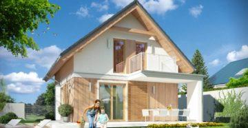 Проекты каркасных домов с мансардой: популярные варианты