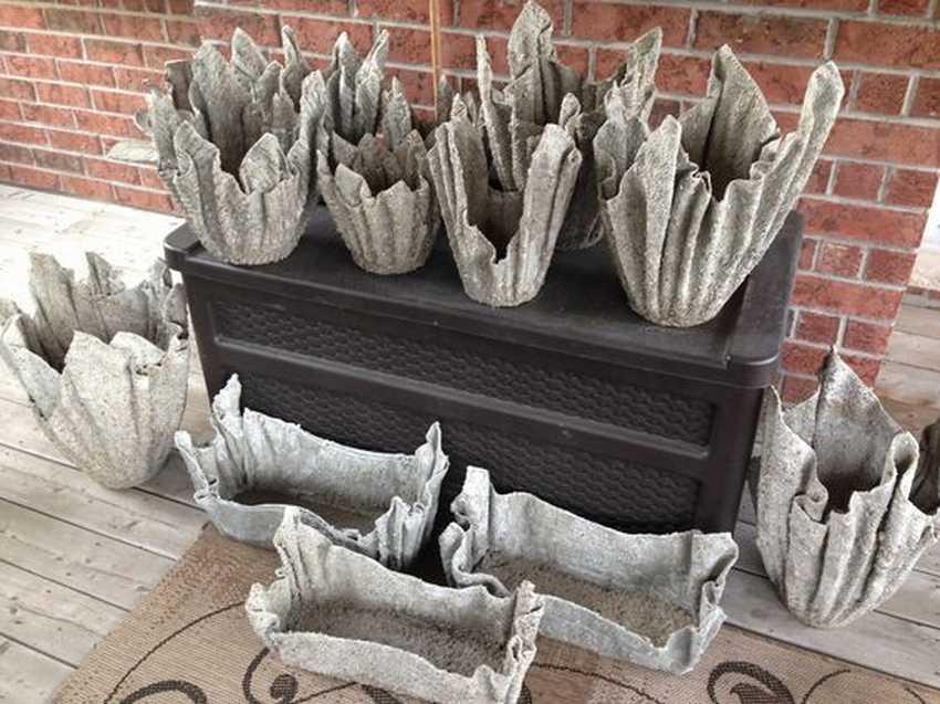 Вазы из цементного раствора своими руками бетон бухара