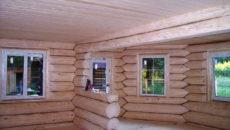 Отделка сруба: особенности наружных работ и внутреннего оформления бревенчатого дома