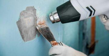 Удаление водоэмульсионной краски: эффективные способы и средства