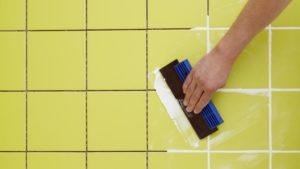 Затирка для плитки: виды и особенности