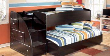 Как выбрать двухъярусную кровать для мальчиков?