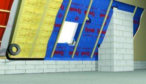 Tyvek Airguard SD5: особенности гидро- и пароизоляционной мембраны