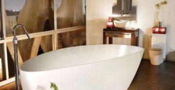 Особенности ванн из литьевого мрамора: как правильно выбрать?