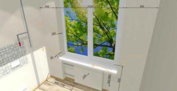 Стандартное расстояние от пола до окна по ГОСТу