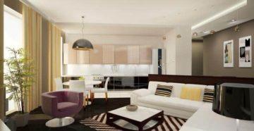 Популярные стили для дизайна кухни-гостиной