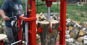 Изготовление гидравлических дровоколов своими руками
