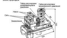 Реле давления воды для насоса: устройство и схема функционирования