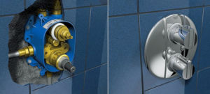 Устройство и особенности установки смесителей скрытого монтажа
