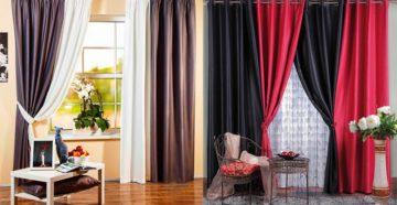 Двойные шторы: правила выбора и сочетания
