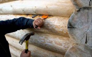 Конопатка сруба: как, когда и чем это нужно делать?