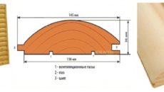 Блок-хаус с имитацией бруса: особенности и преимущества