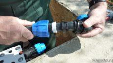 Тонкости подбора фитингов и способы соединения ПНД-труб