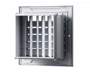 Регулируемая вентиляционная решетка: особенности, виды и монтаж
